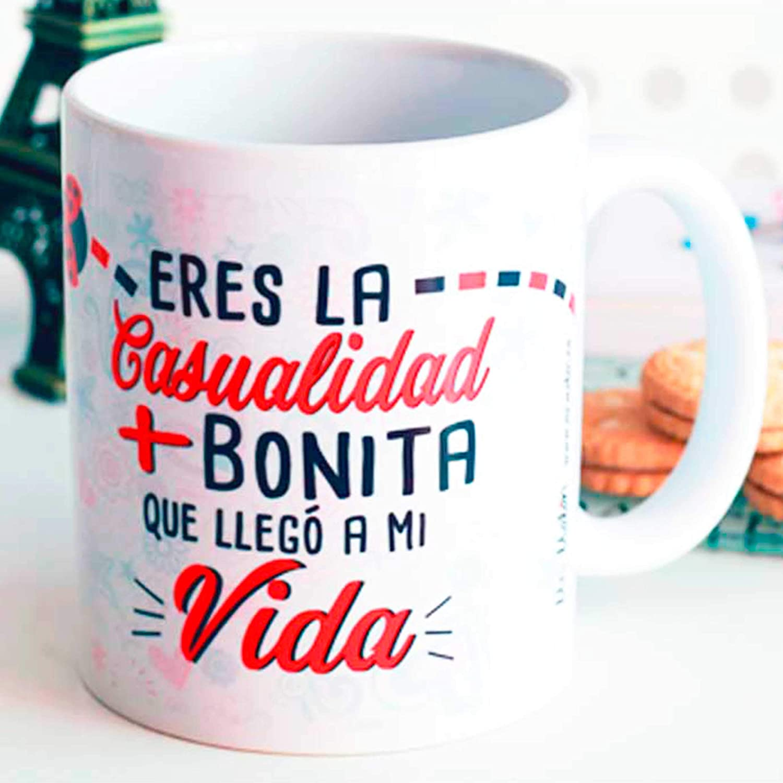 Taza amor casualidad: Amazon.es: Handmade