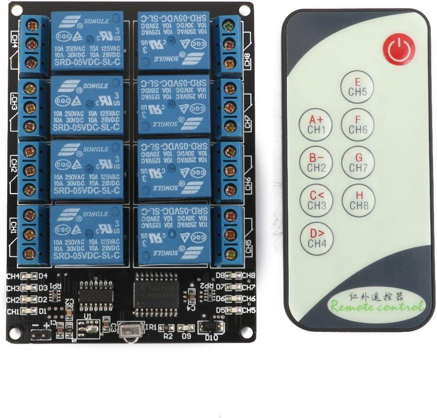 8 Kanal 5v Wireless Led Relais Treiber Selbst Verriegelung Modul
