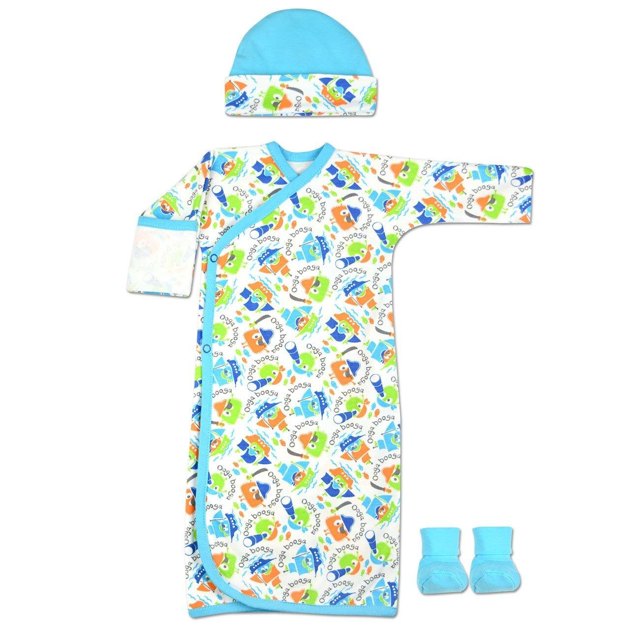 Perfectly Preemie Boys /& Girls Nightshirt