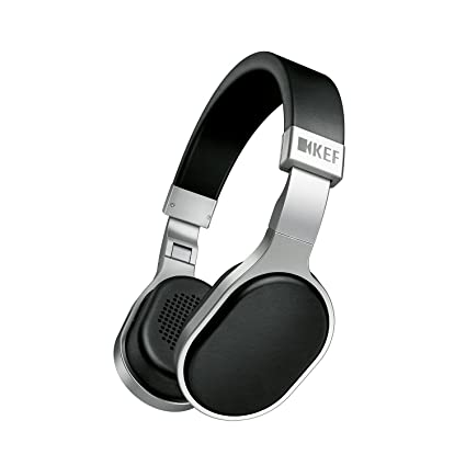 4926dc323cf Amazon.com: KEF M500 Hi-Fi Headphones w/Mic & Remote - Aluminum/Black: Home  Audio & Theater