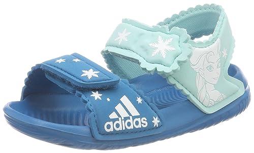 f6853dbd660 adidas Unisex Babies' Dy Frozen Altaswim G I Trainers, Multicoloured  (Petmis/Ftwbla /