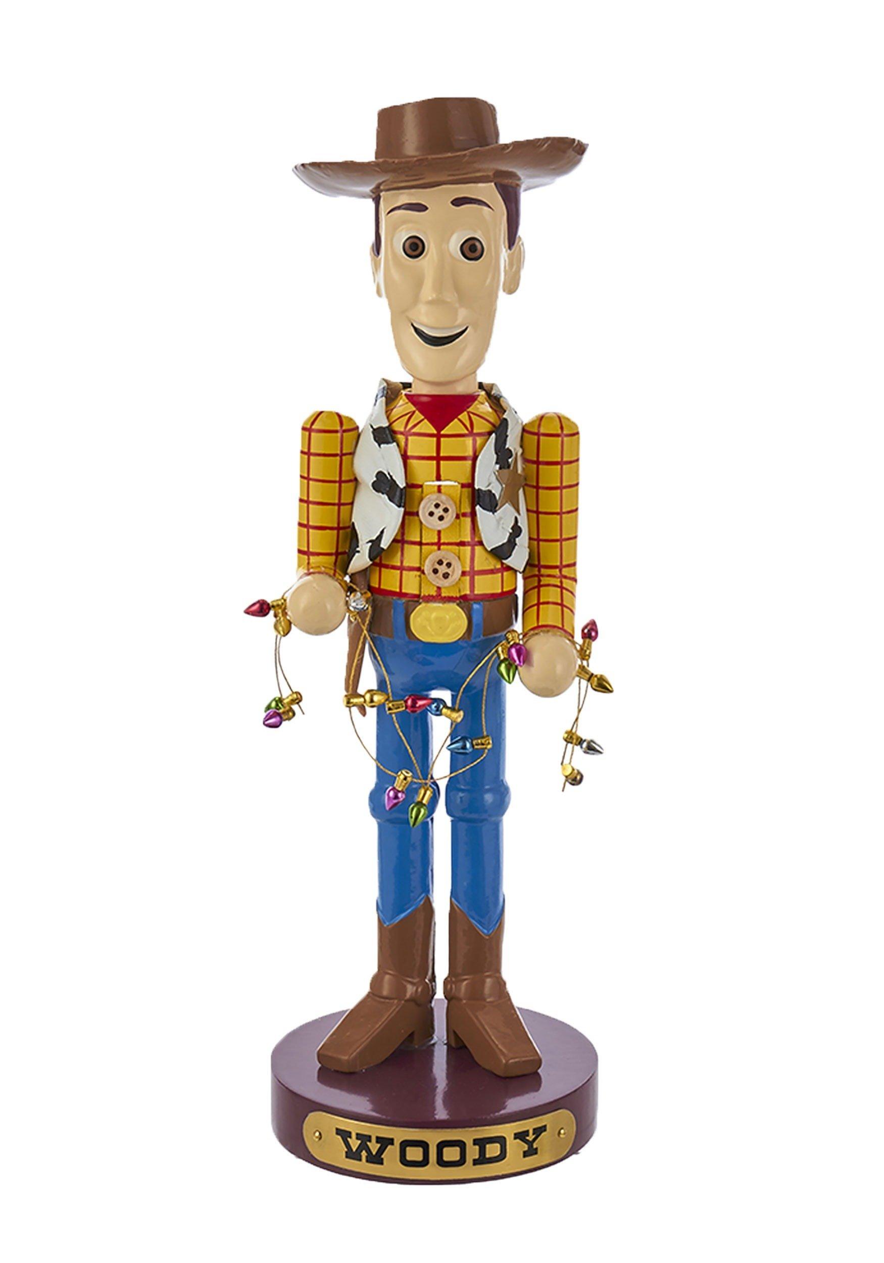 Disney Kurt Adler 11 Inch Resin Woody Nutcracker