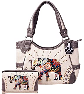 7743bb4bd4bb Cowgirl Trendy Sugar Skull Elephant Color Changing Holographic ...
