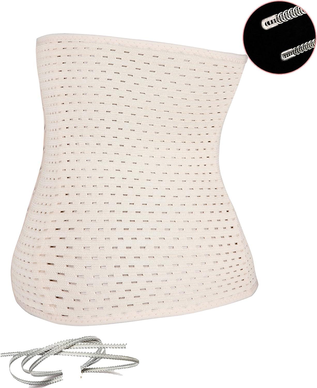 Waist Tummy Breathable Body Shapewear Belt Corset Cincher Trimmer Girdle FLORATA
