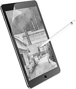 Junfire iPad Mini 6 Paperfeel Screen Protector 2021, 8.4 Inch Anti Glare Matte Screen Film Compatible with Apple Pencil Face ID for Drawing Writing