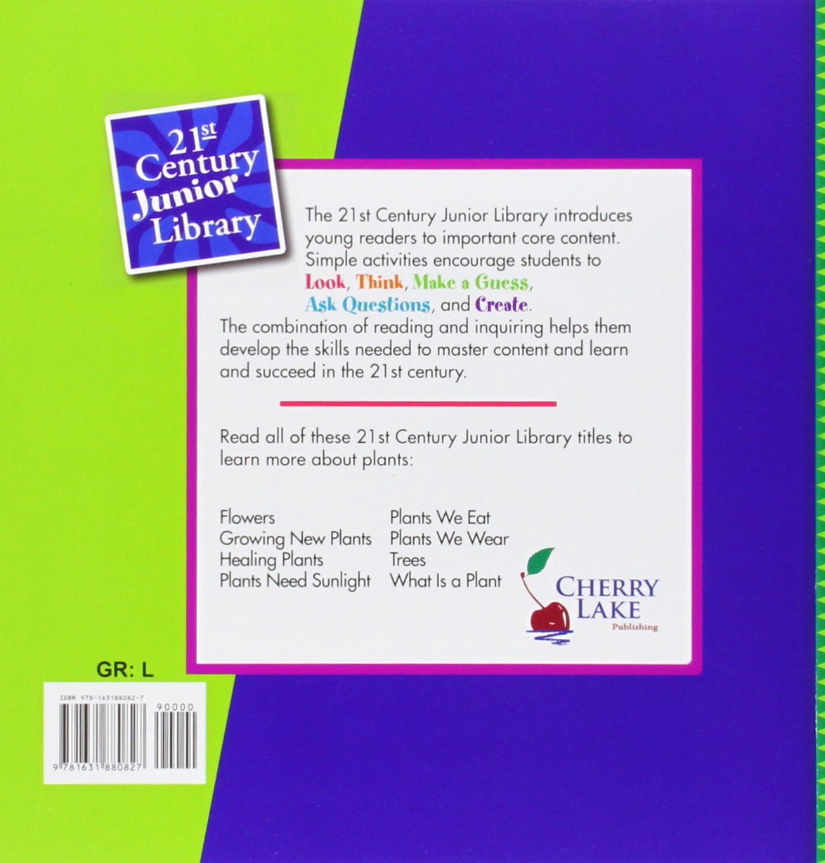 Plants We Eat (21st Century Junior Library) by Cherry Lake Pub (Image #2)