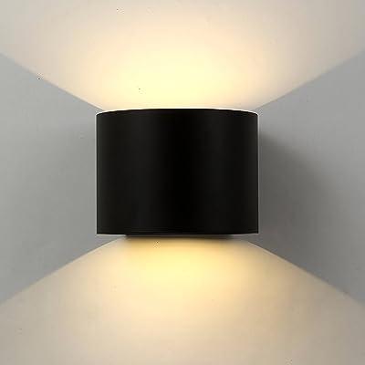 Applique Mural Interieur Exterieur Ledlampe Murale Moderne étanche