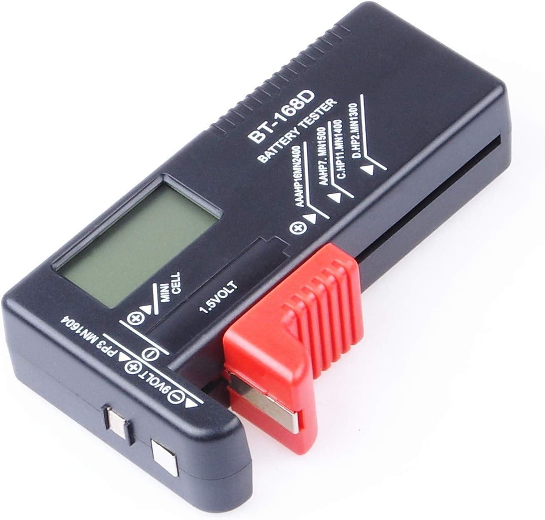 Portable Universal Battery Tester Checker ForAA//AAA//C//D//18650//9V//1.5V Sizes ALUK