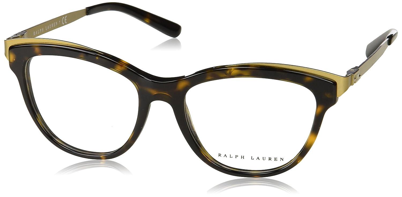030bb8d9e8 Amazon.com  Ralph Lauren Women s RL6166 Eyeglasses 53mm  Clothing