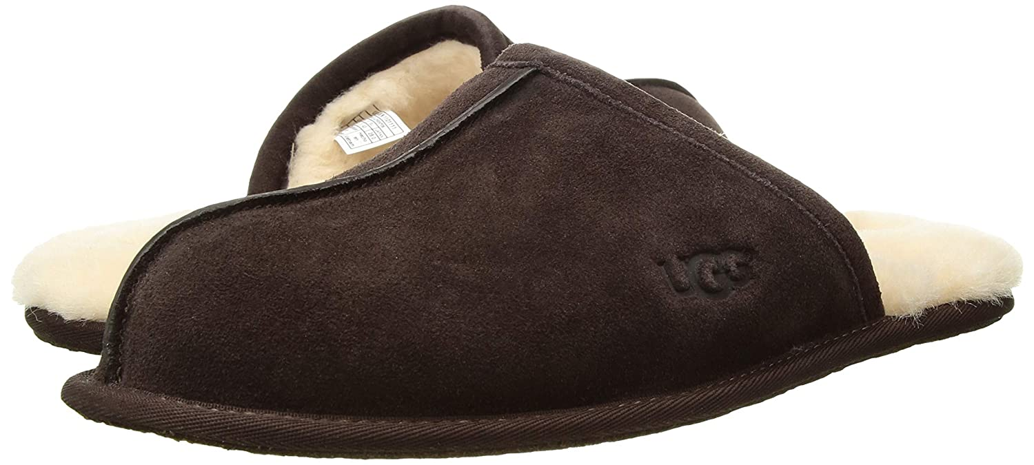 86f0b48a0dc UGG Men's Scuff Slipper, Espresso, 18 M US: Amazon.co.uk: Shoes & Bags