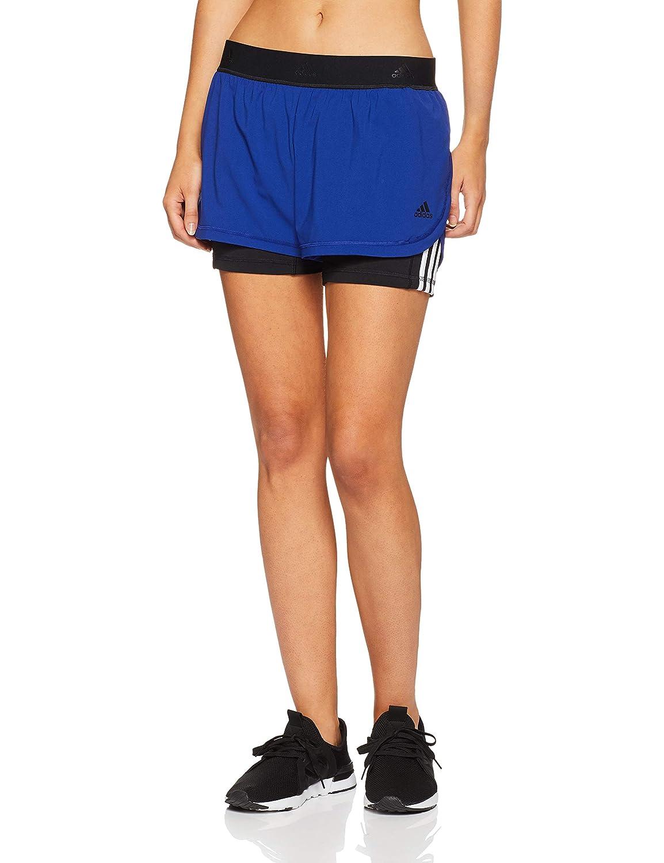 TALLA XS. adidas 3 Stripes_cz7942 Pantalones Cortos, Mujer