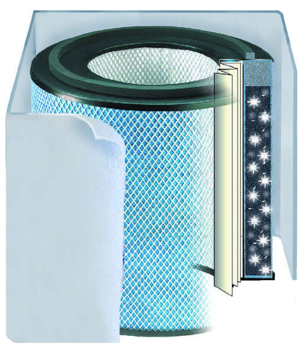 Austin Air Healthmate Air Purifier (HM400) Replacement Filter with Pre-Filter, White, Manufactured in USA!