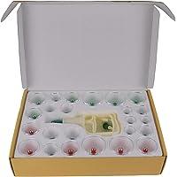 Feibrand Set van 24 cuppotjes van kunststof met vacuümpomp.