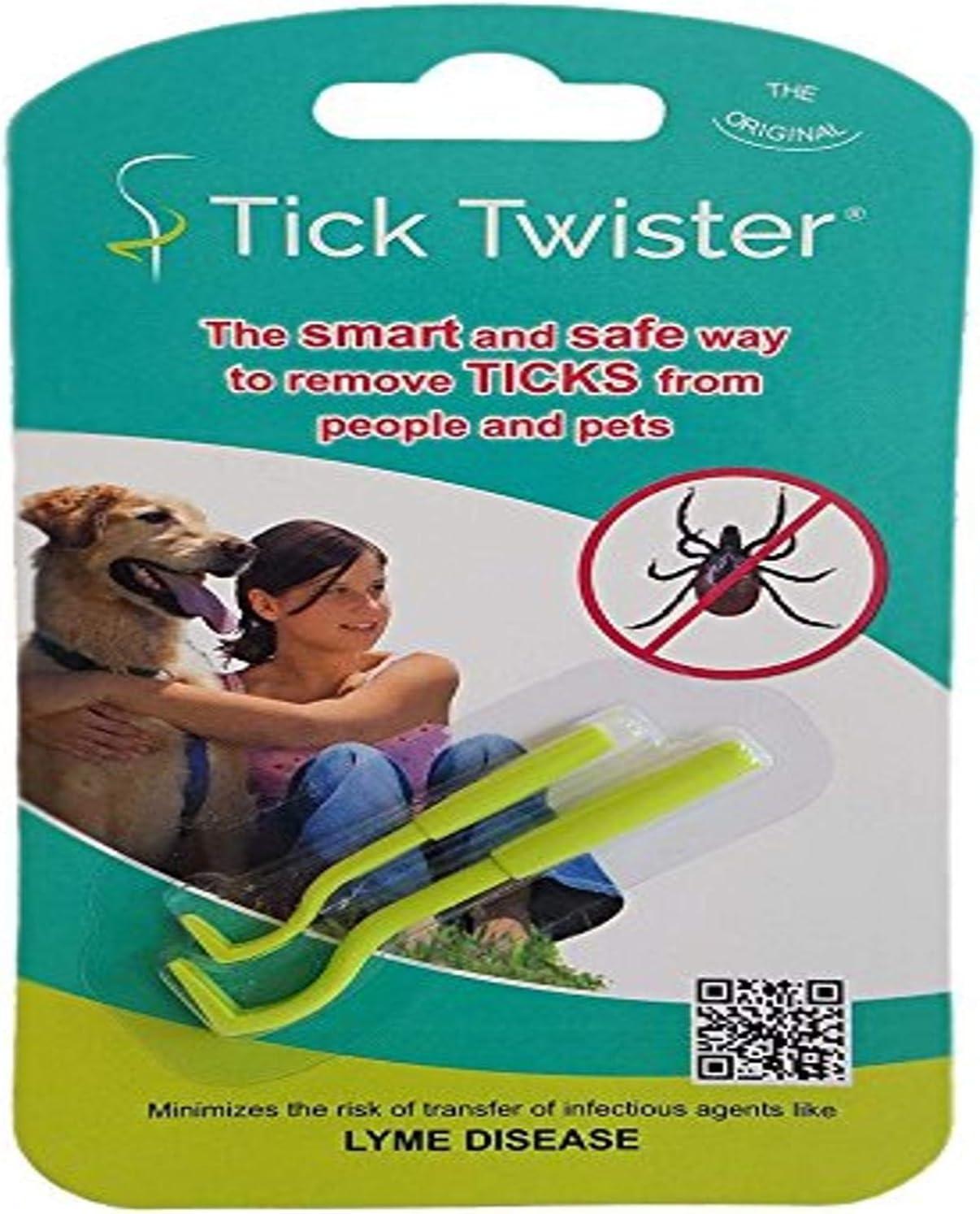 Ntribut 3PCS Pack Tick Herramienta de eliminaci/ón de Ganchos Eliminar garrapatas en Perros Gatos Otros Animales y Humanos