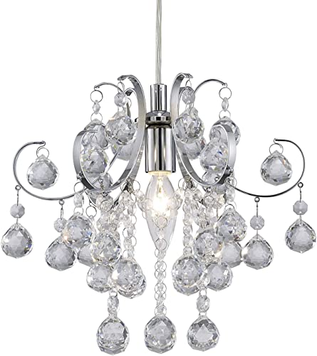 Canarm IPL174B01CH Tessa Chrome Pendant-Light