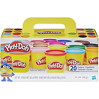 Play-Doh Super Color, 20-Pack, 60 oz: Hasbro: Toys & Games