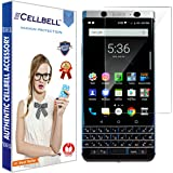 CELLBELL® BlackBerry KEYone (front-nano) Screen Protector With FREE Installation Kit.