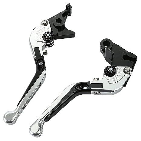 CICMOD Palanca de Freno y Embrague Plegable de Longitud Ajustable para BMW F650GS F700GS F800 R