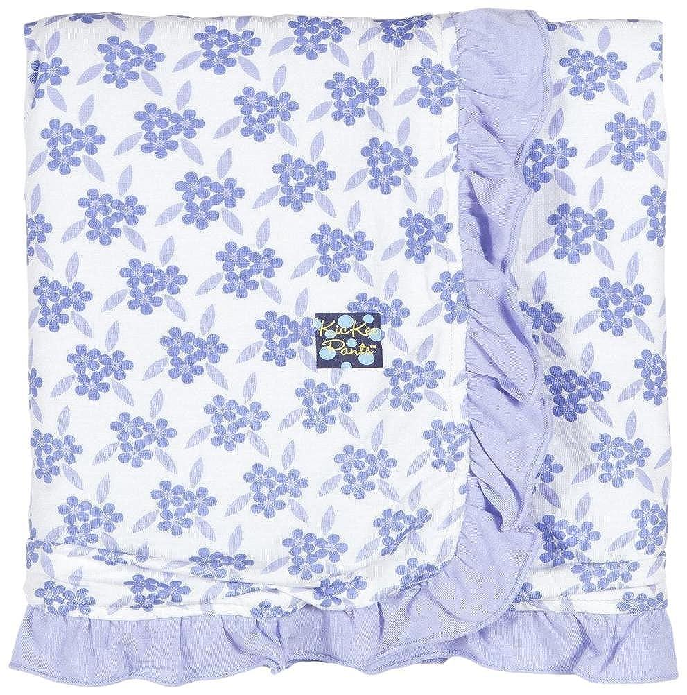 Kickee Pants Baby Girls Essentials Print Ruffle Stroller Blanket