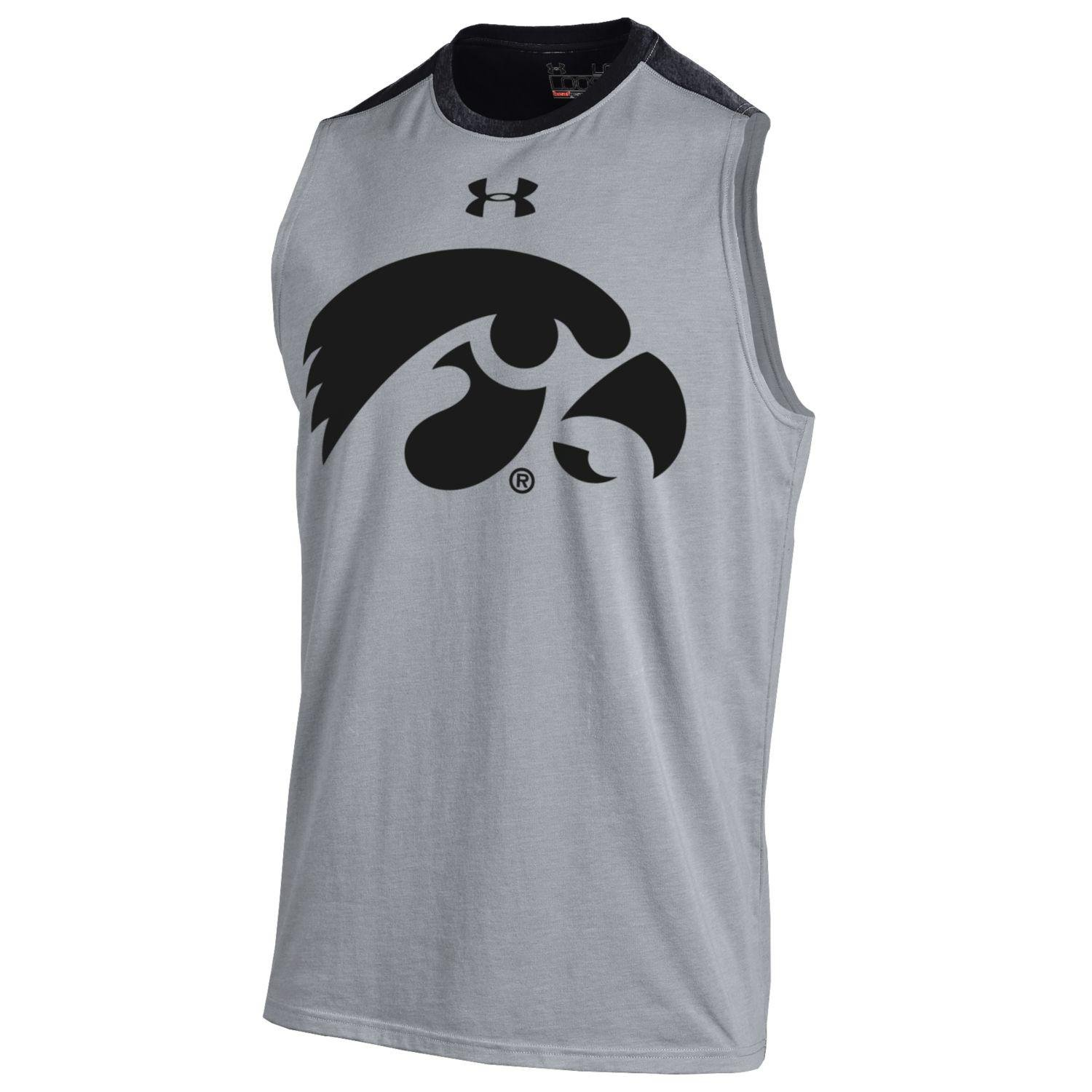 4657ab3356c35c Under Armour Charged Cotton Sleeveless T Shirt Mens ...