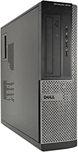 Dell Desktop Computer 3010 Intel Core i3-3220 3.30GHz 4GB DDR3 Ram 250GB Hard Drive DVD Windows 10 Pro (Renewed)
