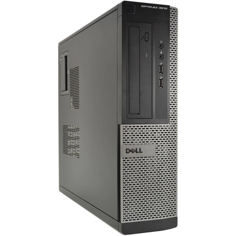 Dell Desktop Computer 3010 Intel Core i3-3220 3.30GHz 4GB DDR3 Ram 250GB Hard Drive DVD Windows 10 Pro (Renewed)