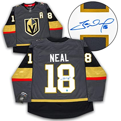 new styles 95227 040e0 James Neal Autographed Jersey - Fanatics Replica ...