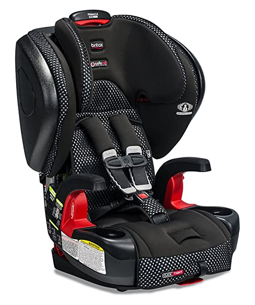Britax Pinnacle ClickTight Cool Flow Harness-2-Booster Car Seat, Grey