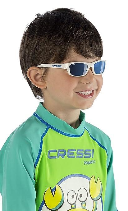 Cressi Yogi - Gafas de Sol para niños Unisex, 100% de protección UV