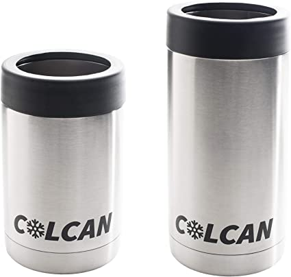 Colcan 12oz 16oz Can Cooler Combo Stainless Steel Double Insulated Coolers Cool Bags Amazon Canada