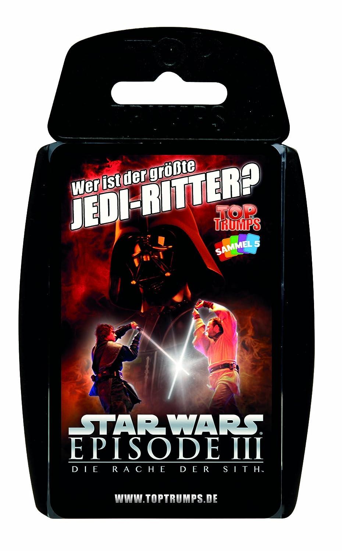 Spiel Quartett Quartettspiel Kartenspiel Top Trumps Star Wars Episode II 2