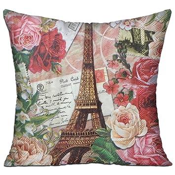 Amazon.com: WQBZL - Almohada decorativa de lujo con ...