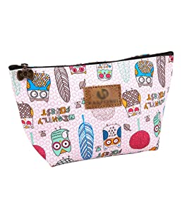 Outflower Pu Fishtail Cosmetic Bag Wash Bag Travel Storage Bag Make Up Toiletry Bags Storage Organiser with Zipper for Women, Ladies & Girls