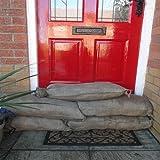 25x Sacchi di sabbia in iuta per protezione dalle inondazioni
