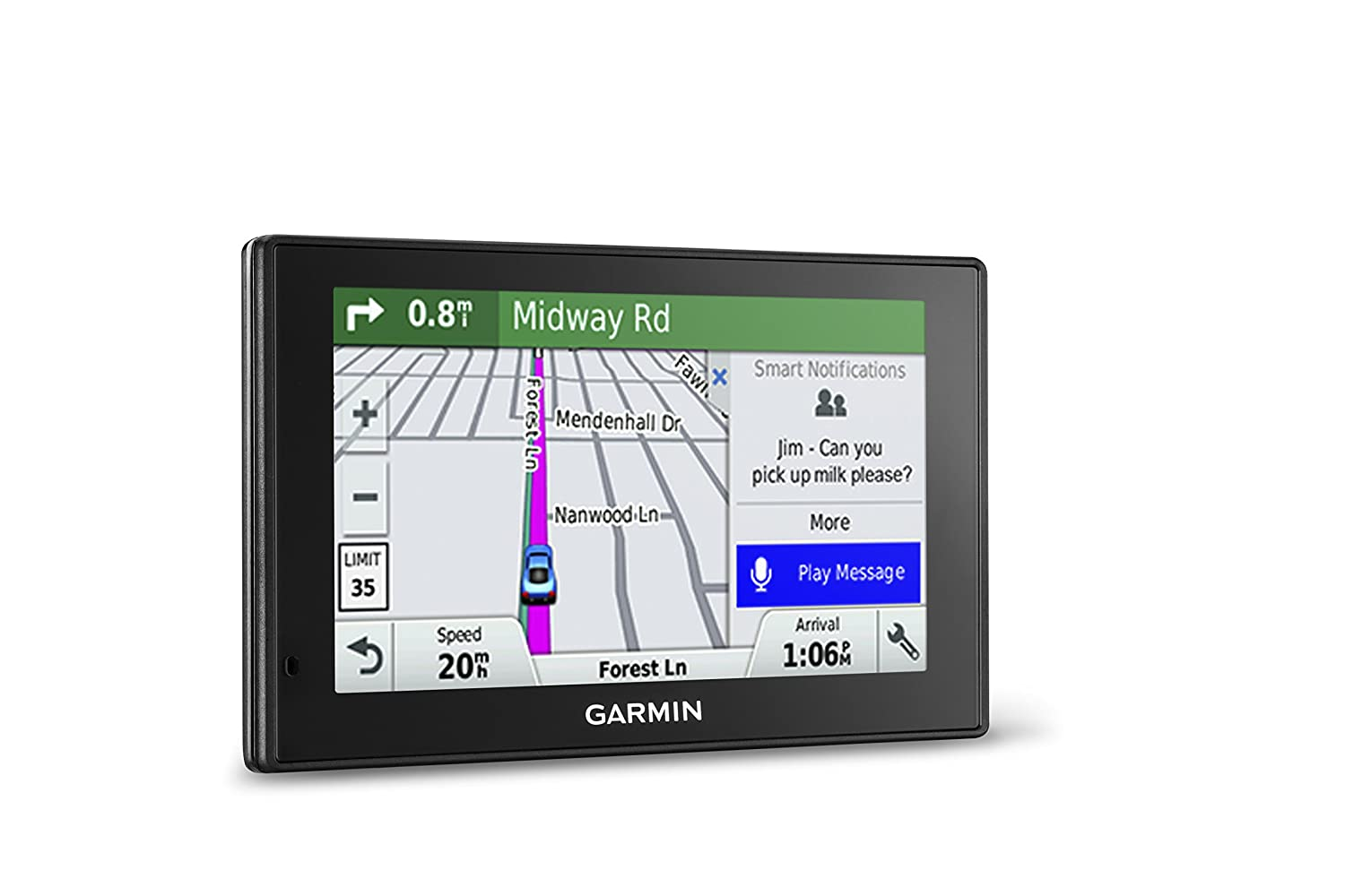 $169.99(was $319.99) Garmin DriveSmart 50 5-Inch GPS Navigation System with Smart Notifications and Lifetime North America Maps