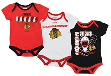 6824565565c Amazon.com: NHL Reebok Infants 3-piece Bodysuit Set, Team Options ...