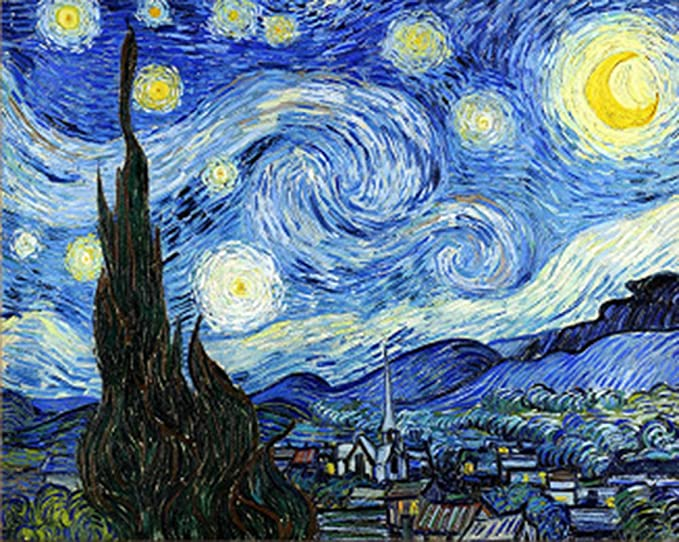 Schipper 609130816 Painting by Number Starry Night 40 x 50 cm
