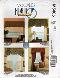 McCall's Home Dec In-A-Sec Valance Pattern M5405