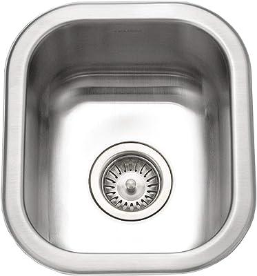 HOUZER CS-1307-1 Club Series Undermount Small Bar/Prep Sink