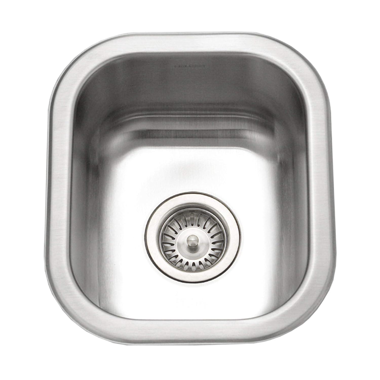 3. Houzer CS-1307-1 Club Series Undermount Small Bar/Prep Sink