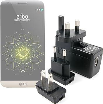 DURAGADGET Kit De Adaptadores con Cargador para Smartphone LG G3 ...