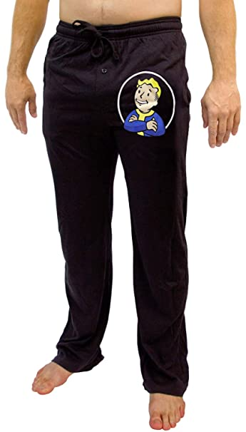 Fallout Vault Boy dormir pantalones de pijama Gamer - negro -