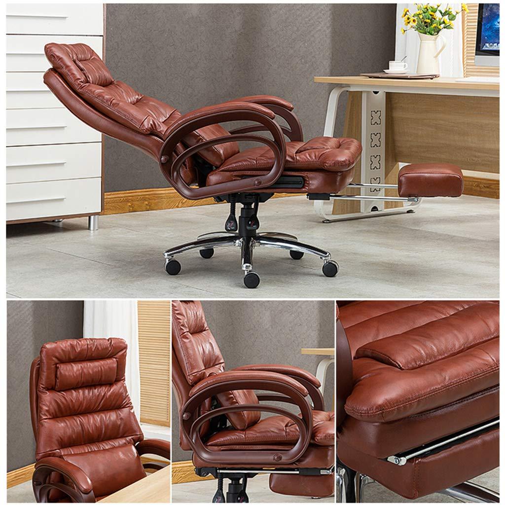 stol – verkställande kontorsstol chef stol massage funktion roterande lyft armstöd ergonomisk design verkställande stol kontorsprodukter + b
