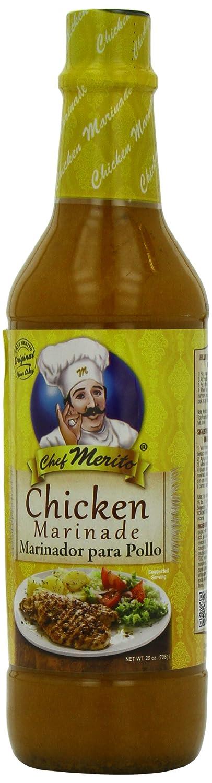 Chef Merito Marinade, Chicken, 25 Ounce