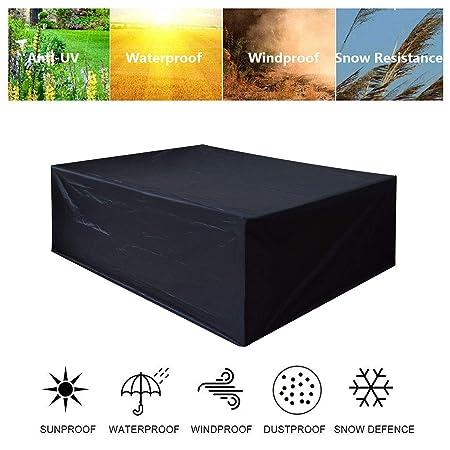 Funda para Mesa de Jardin, Funda para Muebles Tela Oxford 420d ...