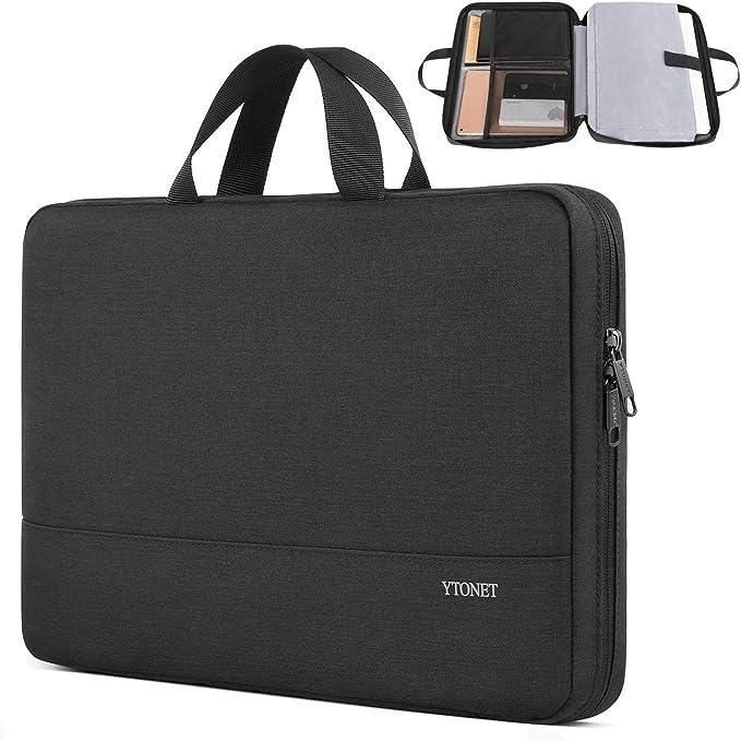 Fantasy Forest Print Portable Laptop Bag Business Laptop Shoulder Messenger Bag Protective Bag 15.6 Inch Yuotry Neoprene Laptop Sleeve Case