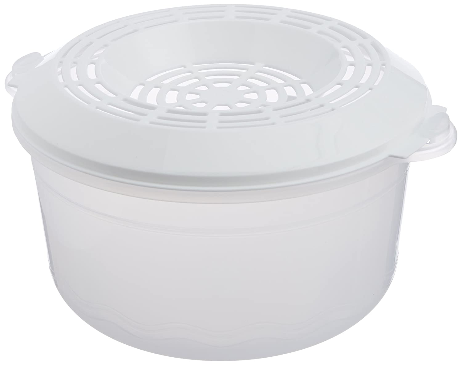 Buy Signoraware Plastic Rice Cooker 3 Litres White Online At Low Signora Quick Steamer Prices In India