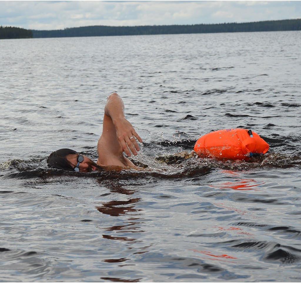 Swim Buoy avec Sac /étanche EKKONG Bou/ée de Natation Sacs de Natation en bouee nage Eau Libre et en Triathlon