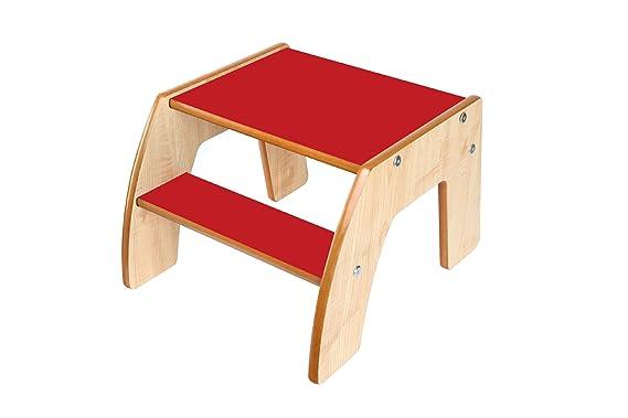Little helper fstp02 3 sgabello in legno per bambini funstep