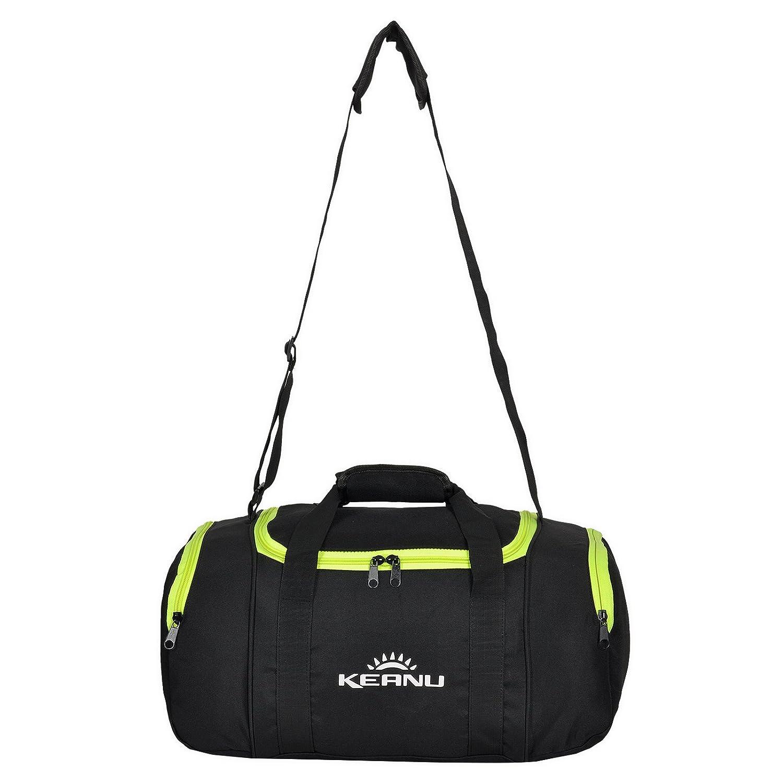 Sac de sport KEANU pratique de 43l - Pliable et multifonction, compartiment pour linge, compartiment pour objets de valeur - Sacde fitness, de yoga ou de sauna, de gym, de sport, de voyage ou de bien
